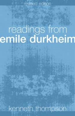 Readings from Emile Durkheim (BOK)