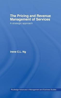Pricing and Revenue Management of Services (BOK)