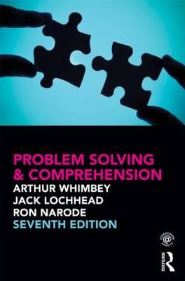 Problem Solving & Comprehension (BOK)