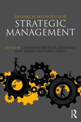 Research Methods for Strategic Management (BOK)