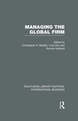 Managing the Global Firm (BOK)