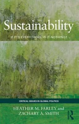 Sustainability: If It's Everything, Is it Nothing? (BOK)
