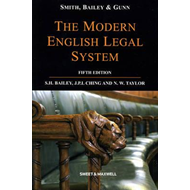 Smith, Bailey and Gunn on the Modern English Legal System (BOK)