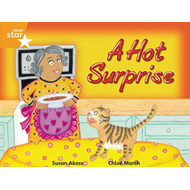 Rigby Star Guided 2 Orange Level, A Hot Surprise Pupil Book (BOK)