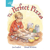 Rigby Star Guided 2, Turquoise Level: The Perfect Pizza Pupil Book (Single) (BOK)