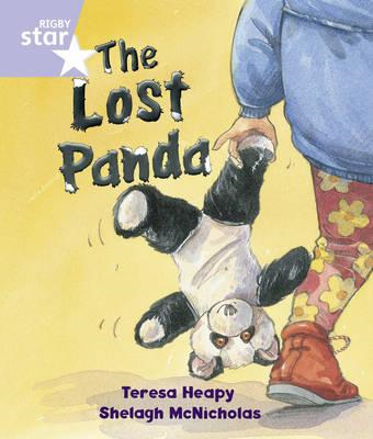 Rigby Star Guided Reception/P1 Lilac Level: The Lost Panda ( (BOK)