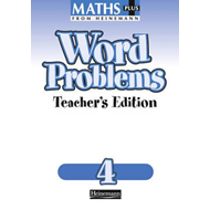 Maths Plus Word Problems 4: Teacher's Book (BOK)
