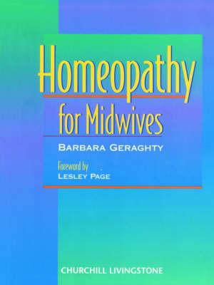Homeopathy for Midwives (BOK)