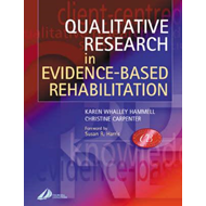 Qualitative Research in Evidence-Based Rehabilitation (BOK)