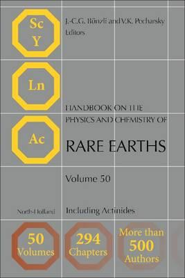 Handbook on the Physics and Chemistry of Rare Earths (BOK)