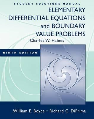Elementary Differential Equations and Boundary Value Problem (BOK)