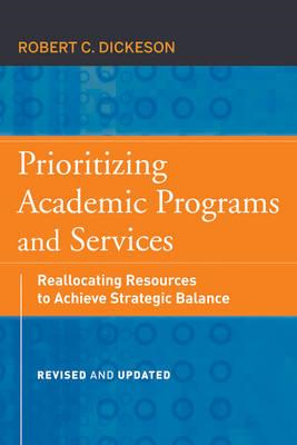 Prioritizing Academic Programs and Services (BOK)