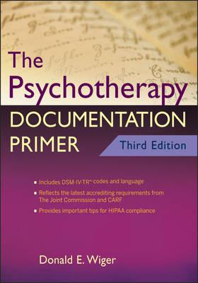 Psychotherapy Documentation Primer (BOK)