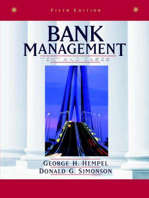Bank Management: Text and Cases (BOK)