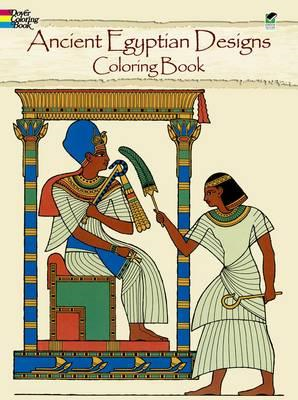 Ancient Egyptian Designs Coloring Book (BOK)