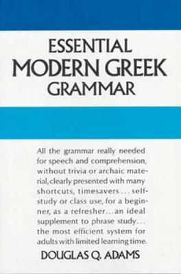 Essential Modern Greek Grammar (BOK)