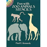 Fun with Zoo Animals Stencils (BOK)