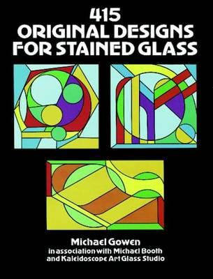 415 Original Designs for Stained Glass (BOK)