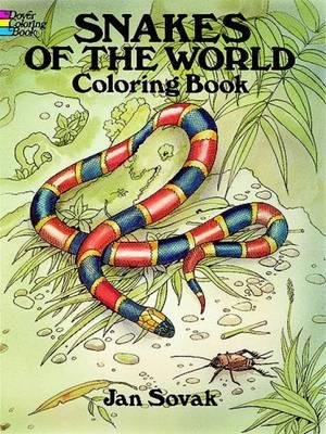 Snakes of the World Coloring Book (BOK)