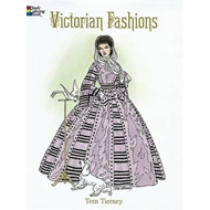 Victorian Fashions Coloring Book (BOK)