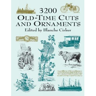 3200 Old-time Cuts and Ornaments (BOK)