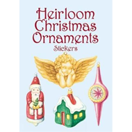 Heirloom Christmas Ornaments Stickers (BOK)