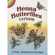 Henna Butterflies Tattoos (BOK)