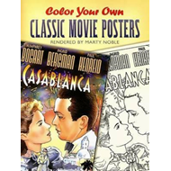 Color Your Own Classic Movie Posters (BOK)