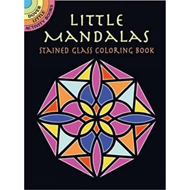 Little Mandalas Stained Glass Coloring Book (BOK)