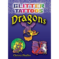 Glitter Tattoos Dragons (BOK)