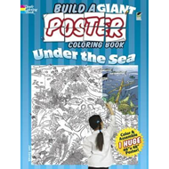 Build a Giant Poster Coloring Book - Under the Sea (BOK)