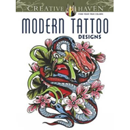 Creative Haven Modern Tattoo Designs Coloring Book (BOK)