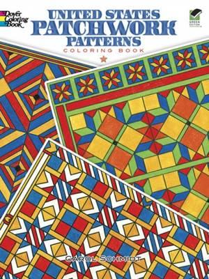 United States Patchwork Patterns Coloring Book (BOK)