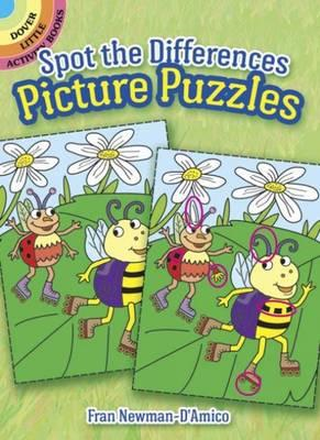 Spot the Differences Picture Puzzles (BOK)