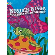 Wonder Wings Butterfly Coloring Book (BOK)