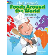 Chef Lorenzo's Foods Around the World Coloring Book (BOK)