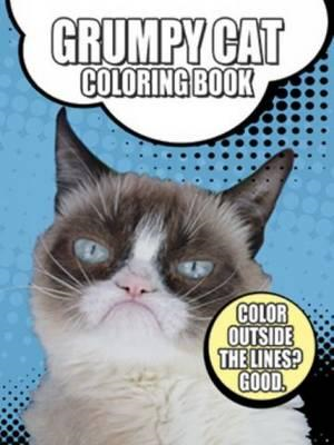 Grumpy Cat Coloring Book (BOK)