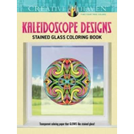Creative Haven Kaleidoscope Designs Stained Glass Coloring B (BOK)