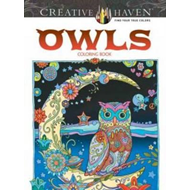 Creative Haven Owls Coloring Book (BOK)