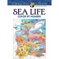 Creative Haven Sea Life Color by Number Coloring Book (BOK)