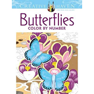 Creative Haven Butterflies Color by Number Coloring Book (BOK)