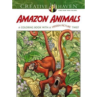 Creative Haven Amazon Animals (BOK)
