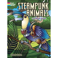 Steampunk Animals Coloring Book (BOK)