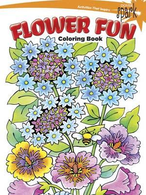 SPARK -- Flower Fun Coloring Book (BOK)