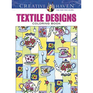 Creative Haven Textile Designs Coloring Book (BOK)