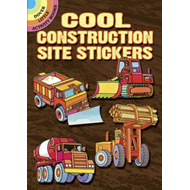 Cool Construction Site Stickers (BOK)