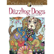 Creative Haven Dazzling Dogs Coloring Book (BOK)