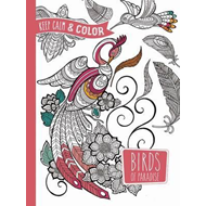 Keep Calm and Color - Birds of Paradise Coloring Book (BOK)