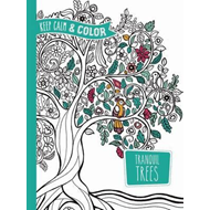 Keep Calm and Color -- Tranquil Trees Coloring Book (BOK)