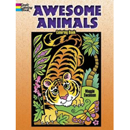 Awesome Animals Coloring Book (BOK)